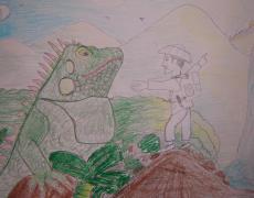 Yali and the Giant Iguana
