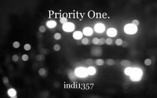 Priority One.