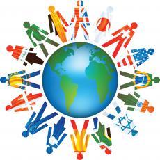 Demographics in a free world economy