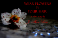 Wear Flowers in Your Hair