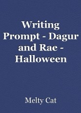 Writing Prompt - Dagur and Rae - Halloween
