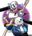 Blue Sparks (Undertale Fanfiction)