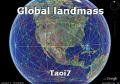 Global landmass