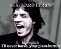 MISHEARD LYRICS