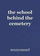 the school behind the cemetery