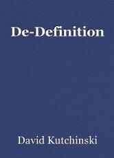De-Definition