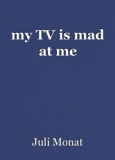 my TV is mad at me