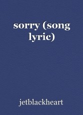 sorry (song lyric)
