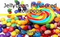 Jellybean Flavoured Lollipops