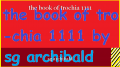 the book of trochia 1111