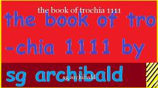 the book of trochia 1111