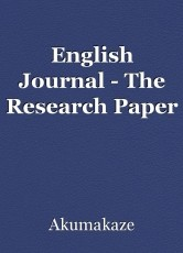 English Journal - The Research Paper