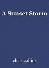 A Sunset Storm
