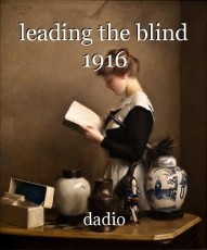 leading the blind 1916