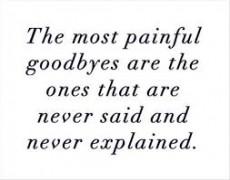 Why Can't U Say Goodbye?