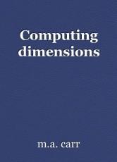Computing dimensions