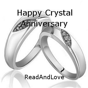 Happy Crystal Anniversary Short Story By Readandlove