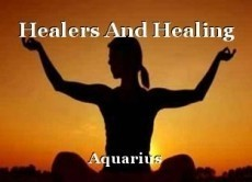 Healers And Healing