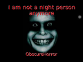 i am not a night person anymore
