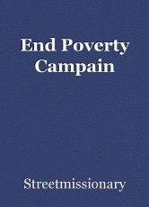 End Poverty Campain