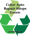 Color Auto Repair Shops Green