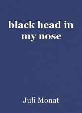 black head in my nose