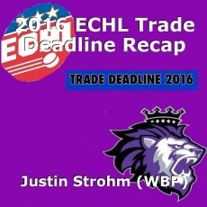 2016 ECHL Trade Deadline Recap