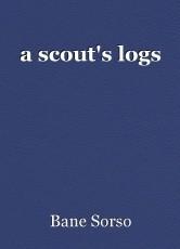 a scout's logs