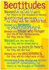 Is your Attitudes your Beatitudes?