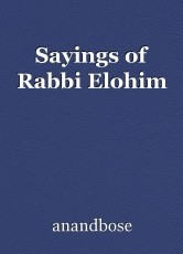 Sayings of Rabbi Elohim