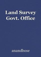 Land Survey Govt. Office
