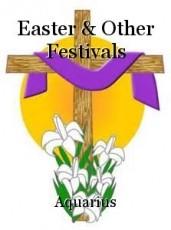 Easter & Other Festivals
