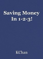 Saving Money In 1-2-3!