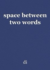 space between two words