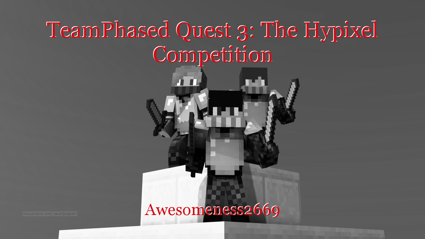 TeamPhased Quest 3: The Hypixel Competition, book by