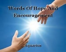 Words Of Hope And Encouragement