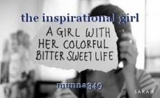 the inspirational girl