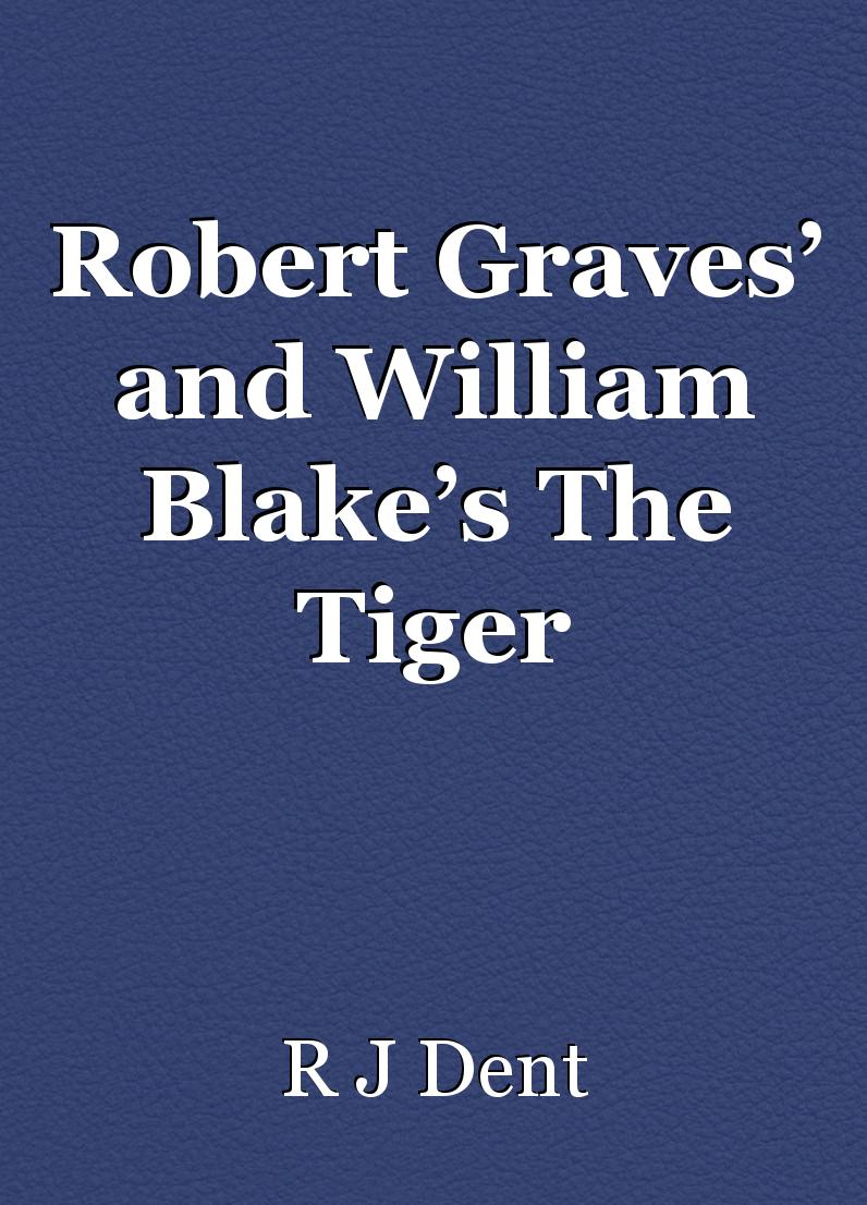 robert graves essay Robert graves was born on july 24, 1895 in wimbledon, england into a highly-literary and upper-class family he was educated in the british prepara.