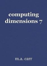 computing dimensions 7