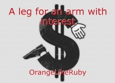 A leg for an arm with interest
