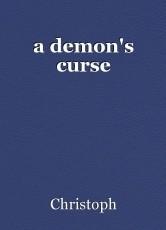 a demon's curse