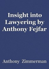 Insight into Lawyering by Anthony Fejfar