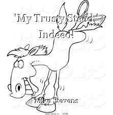 'My Trusty Steed,' Indeed!