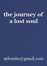 the journey of a lost soul