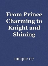 From Prince Charming to Knight and Shining Armour