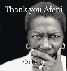 Thank you Afeni