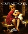 CISSY AND CATS.