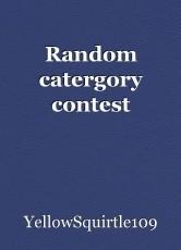Random catergory contest