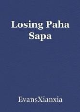 Losing Paha Sapa