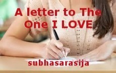 A letter to The One I LOVE